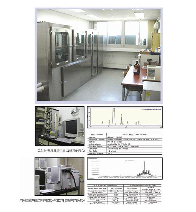 친환경자재성능실험실